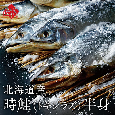 北海道産 時鮭(トキシラズ)半身 1.0kg