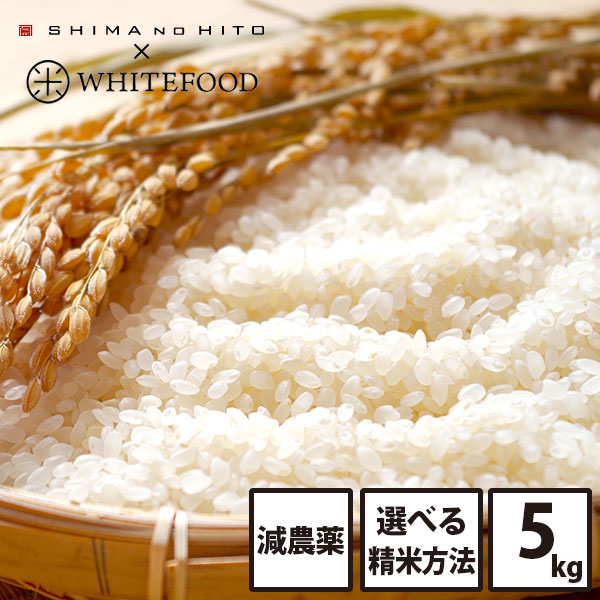 【令和2年度産新米】ホワイトライス 特A 北海道産 ななつぼし 5kg (選べる精米方法)