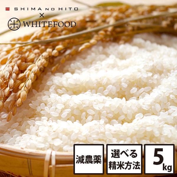 【令和2年度産米】ホワイトライス 特A 北海道産 ななつぼし 5kg (選べる精米方法)